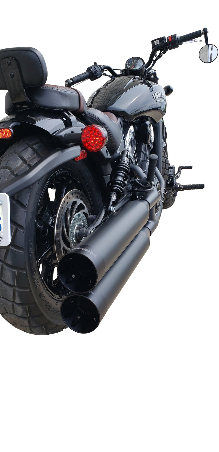 Indian Scout Bobber Slip-On Exhaust