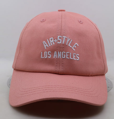 Los Angeles Dad Hat Peach