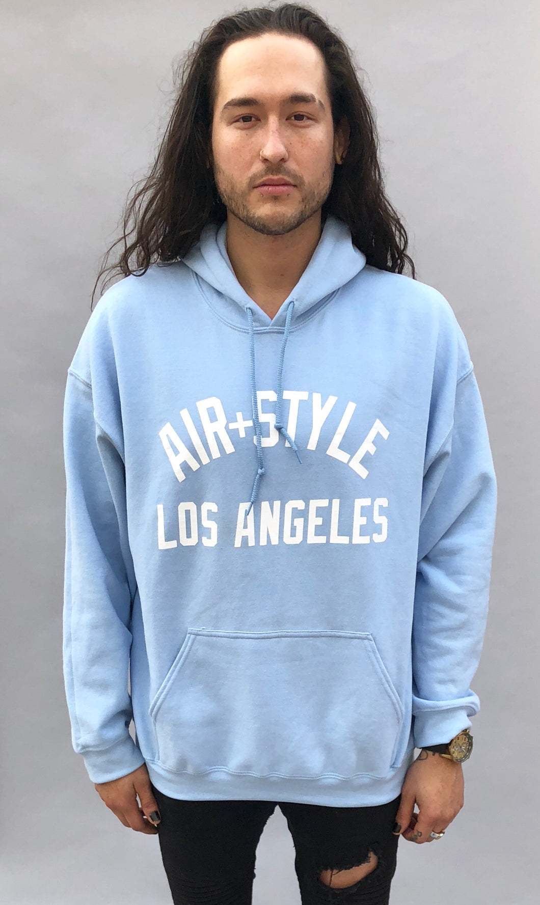 Los Angeles Light Blue Hoodie
