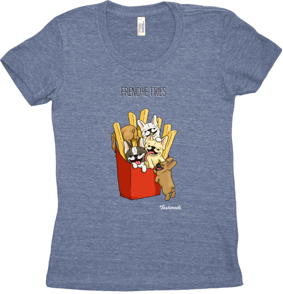 Camiseta Frenchie Fries Feminina