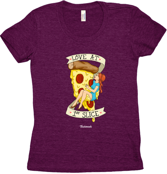 Camiseta Love at 1st Slice Feminina