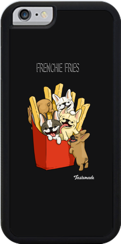 Frenchie Fries iPhone 6 Plus Case