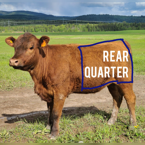 Beef by the Quarter:  Hind ($8/lb)