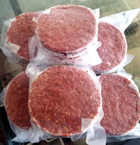 Burger Patties ( Box of 32- 5oz size)- Best Seller!