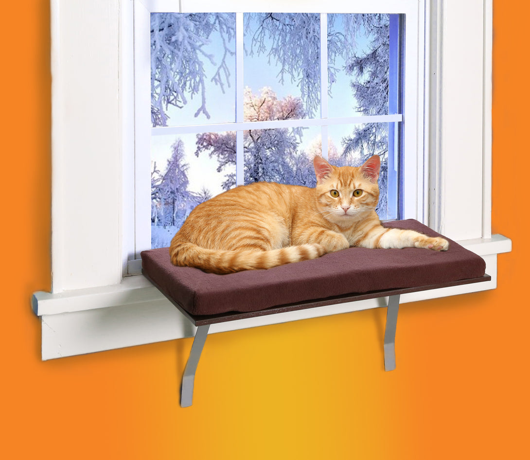 Kleeger Cat Window Perch Seat Sunny Kitty Window Sill