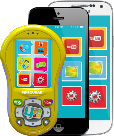 Yip Yap App and Pipsqueak Smartphone for Kids