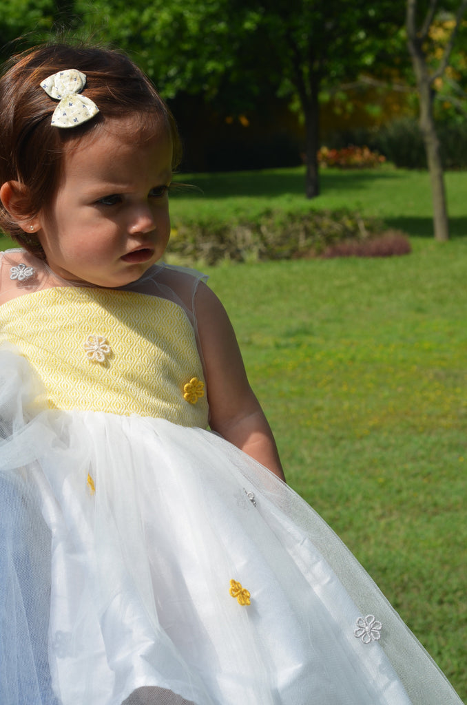 Vestido Carolina Yellow