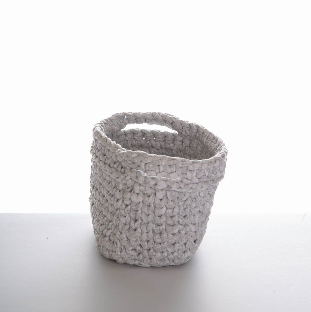 Canasta Trapillo I Knitted Basket