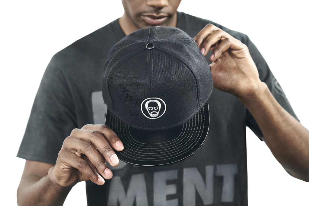 Leather Brim Snapback