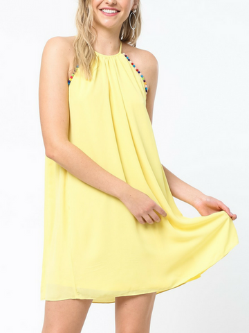 Beach Party Dress - Women's clothing