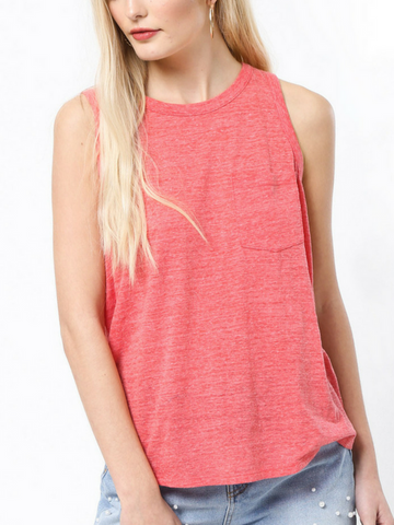 Fresh And Flirty Tank Top - Women's clothing