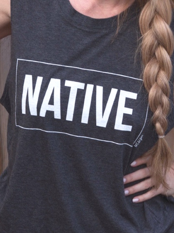 Native Graphic Tank - Women's clothing