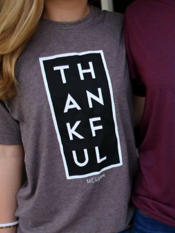 Thankful Tee - Women's clothing
