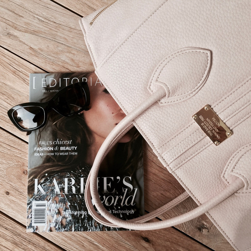 12 Essential things and some extra little luxuries every woman should have in her (vegan) handbag