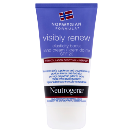 Neutrogena Norvég Formula Visibly Renew kézkrém SPF 20 75 ml - ReBella Webshop
