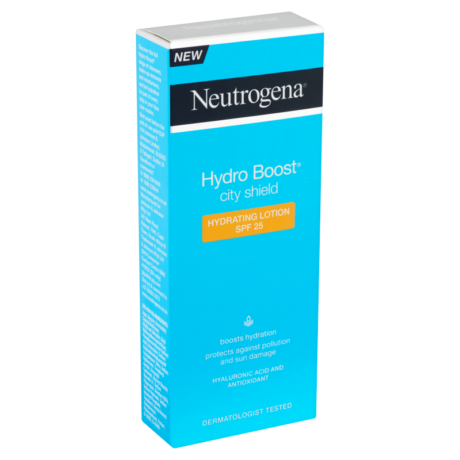 Neutrogena Hydro Boost City Shield hidratáló arcápoló SPF 25 50 ml - ReBella Webshop
