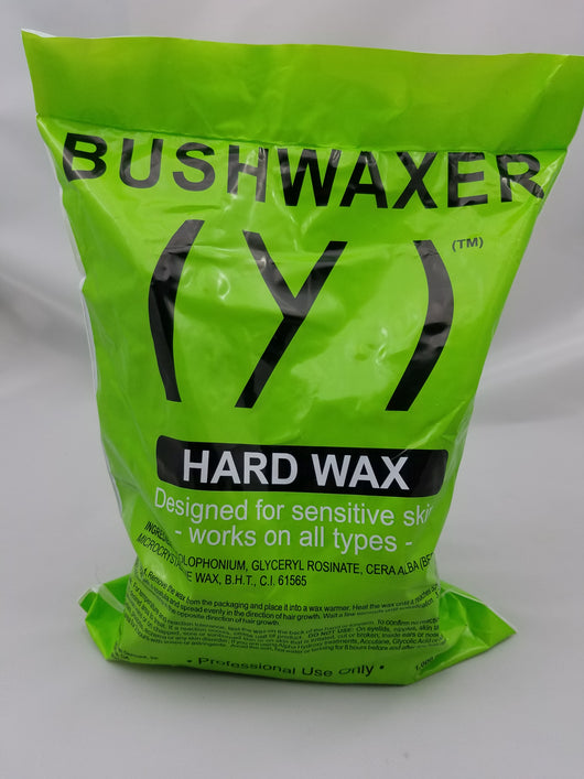 BUSHWAXER Hard Wax 1-Bag (appx 39 oz)