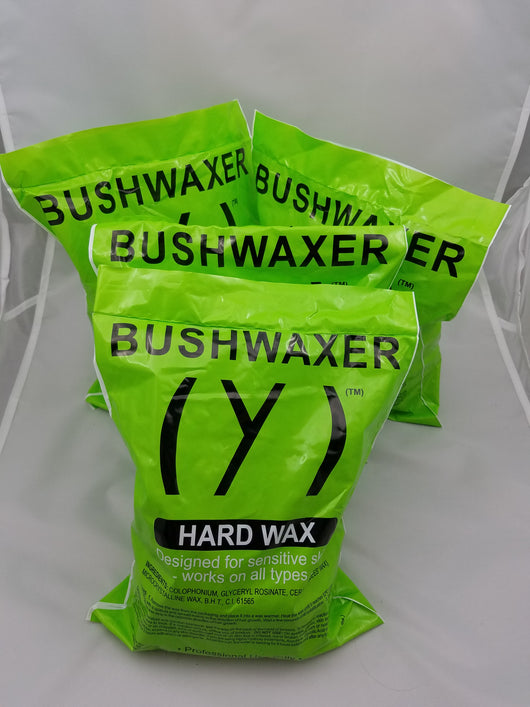 BUSHWAXER Hard Wax 4-Bags + OIL (appx 156 oz) [BWG]