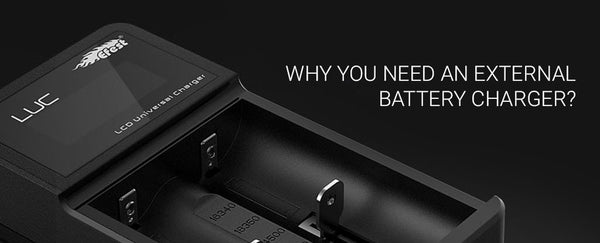 Why you need an external battery charger?