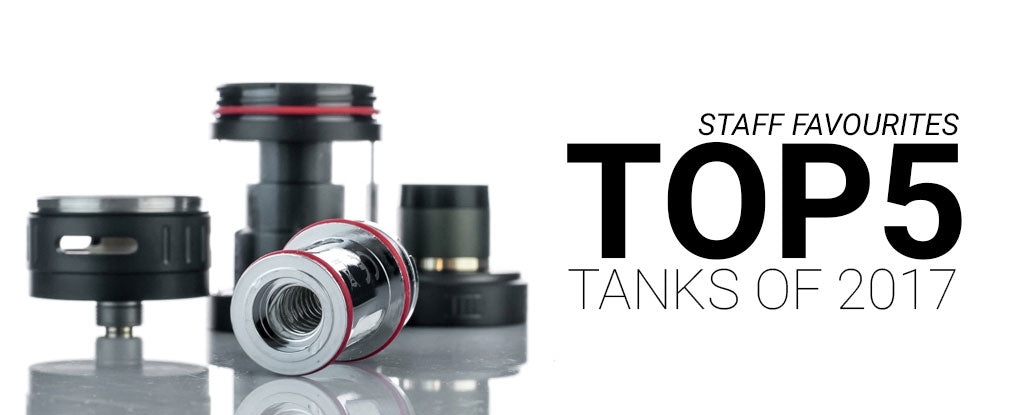 NYX ECIGS - Online Vape Shop - Stores in Toronto, Ontario, Canada, Markham, Whitby, Scarborough, North York - Top 5 Vape Tanks of 2017 - Free Shipping