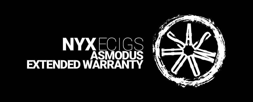 NYX ECIGS - Asmodus Extended Warranty - 90 days - Vape E liquid Ejuice Toronto Ontario Canada Markham North York Whitby Scarborough Free Shipping