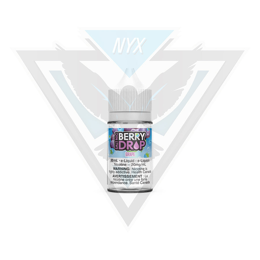 GRAPE SALT BY BERRY DROP E-LIQUID 30ML - NYX ECIGS