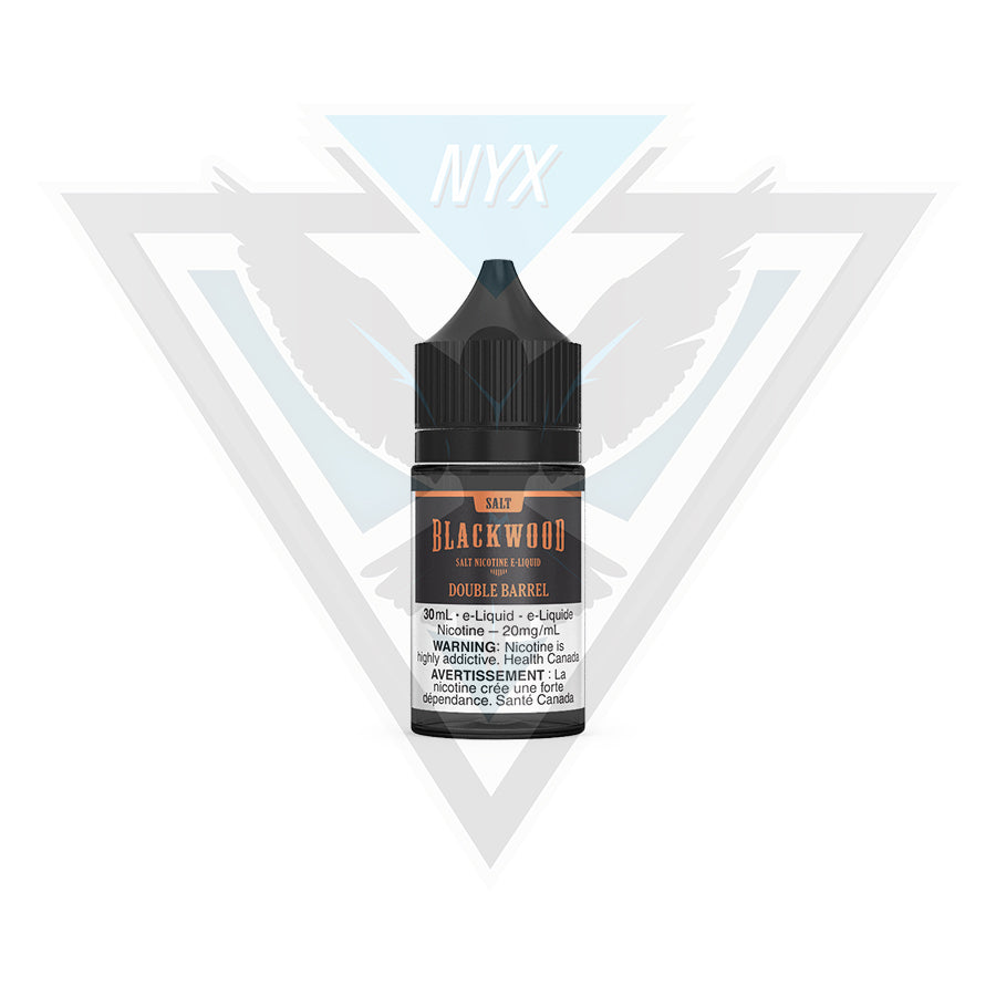 BLACKWOOD DOUBLE BARREL SALT E-LIQUID 30ML - NYX ECIGS