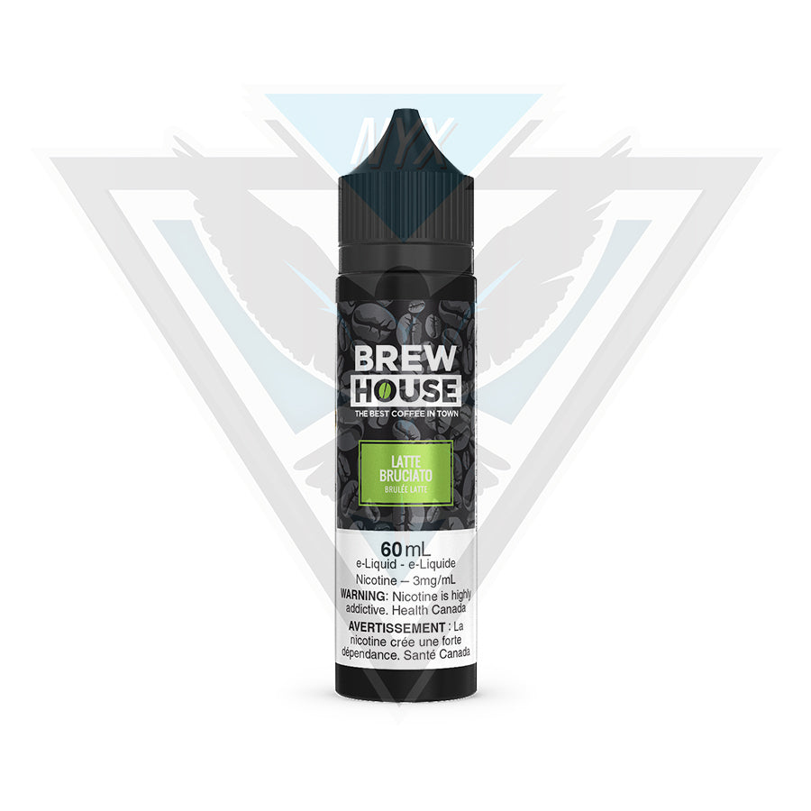 LATTE BRUCIATO BY BREW HOUSE 60ML - NYX ECIGS