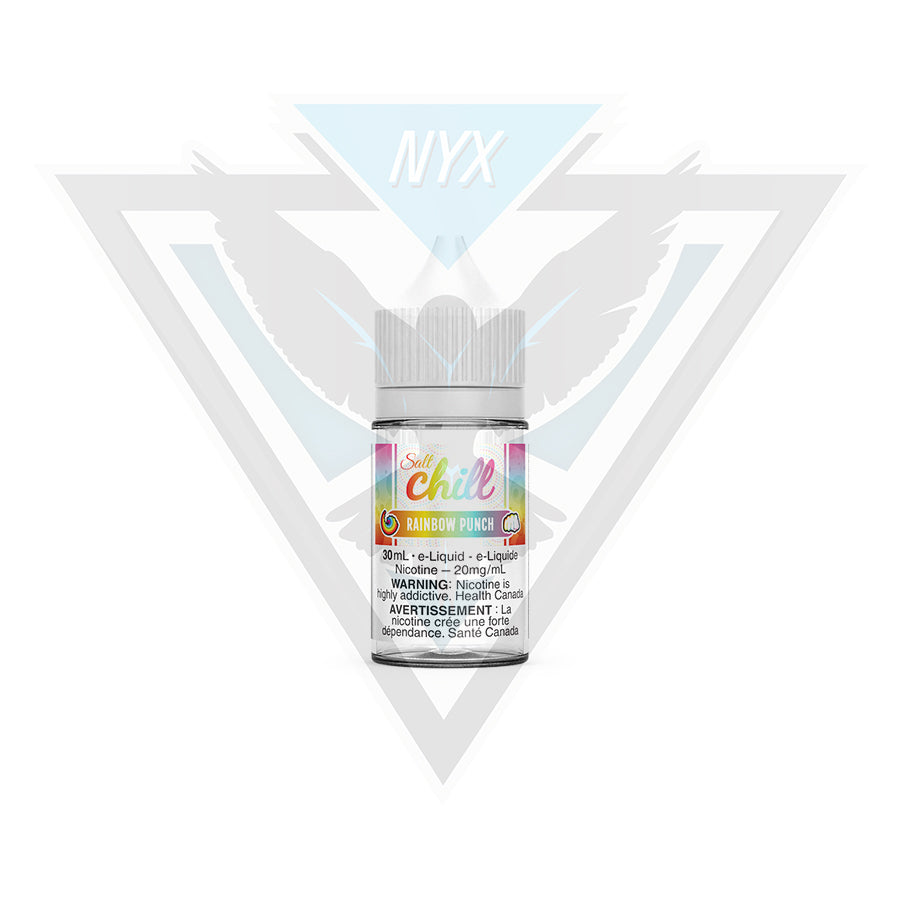 CHILL ELIQUID RAINBOW PUNCH SALT 30ML - NYX ECIGS