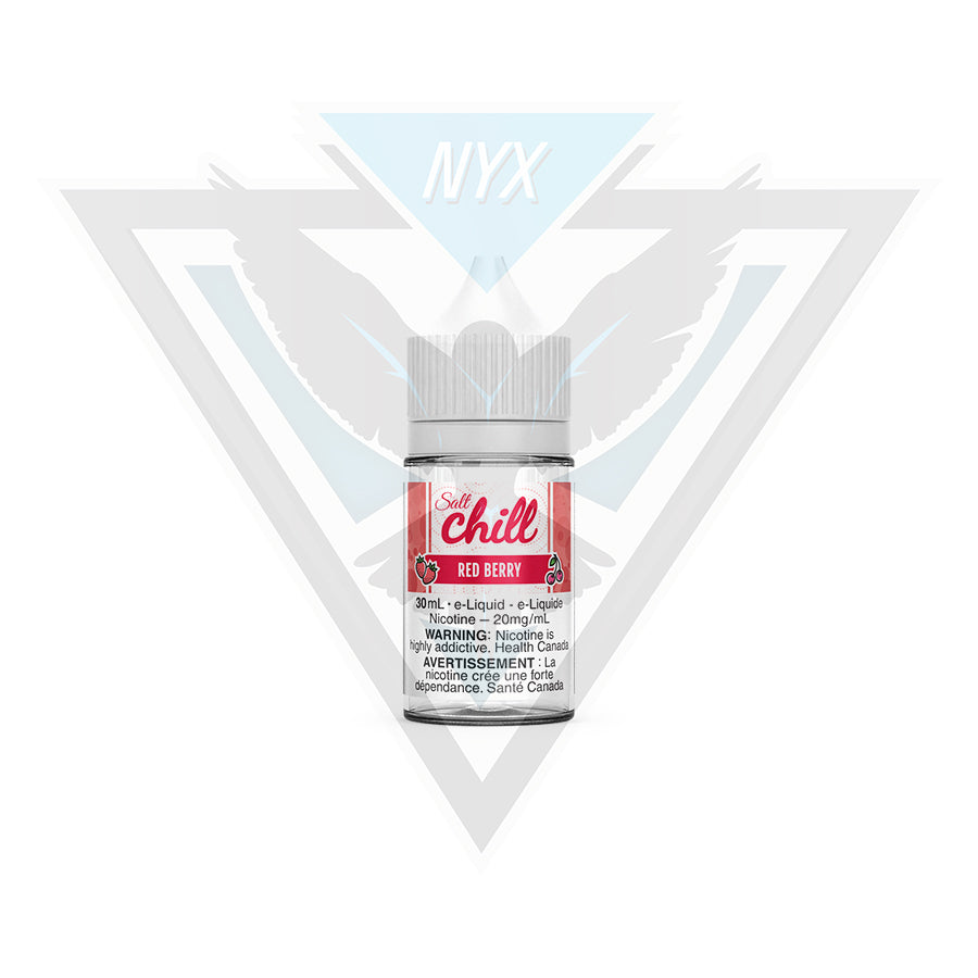 CHILL ELIQUID RED BERRY SALT 30ML - NYX ECIGS