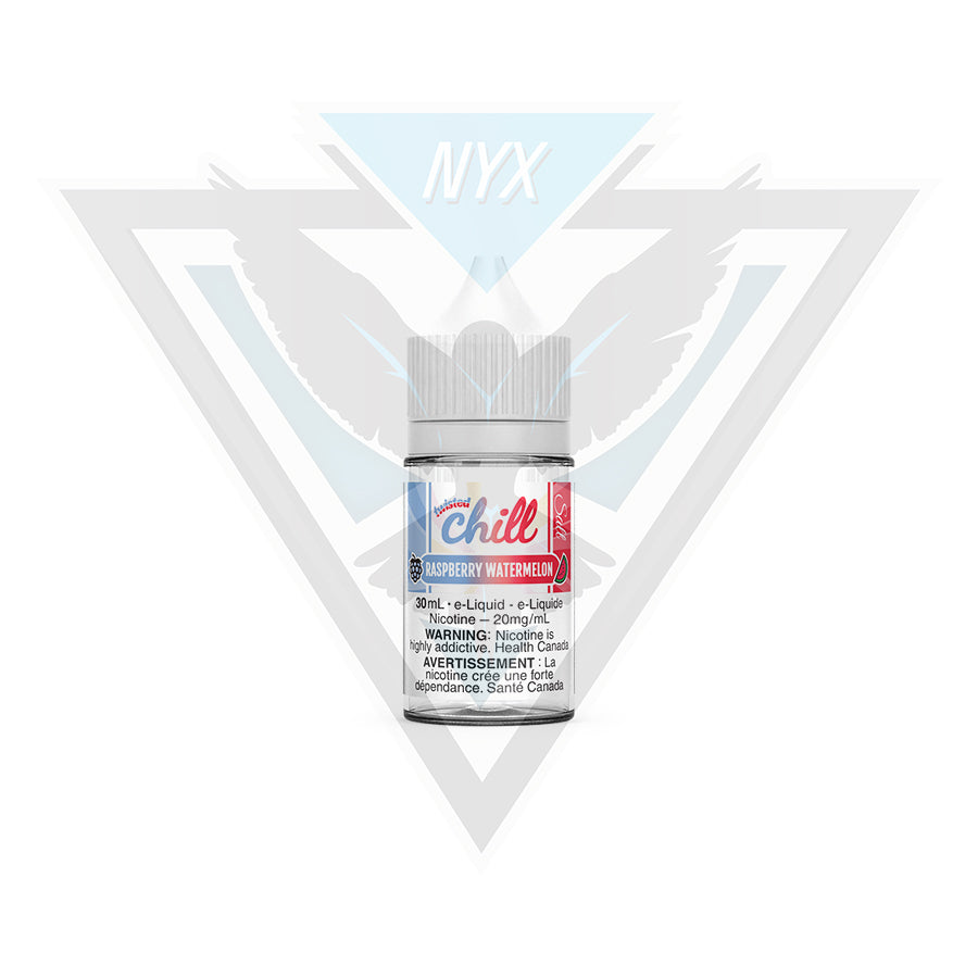 CHILL ELIQUID RASPBERRY WATERMELON SALT 30ML - NYX ECIGS