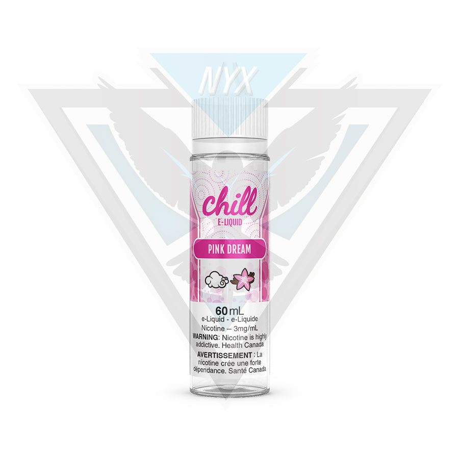 CHILL ELIQUID ROSE RÊVE 60ML - NYX ECIGS