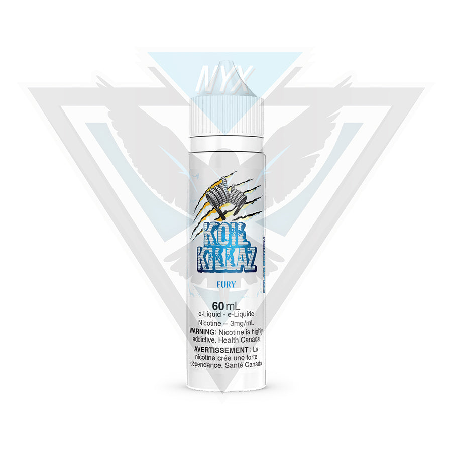 KOIL KILLAZ FURY POLAR EDITION 60ML - NYX ECIGS