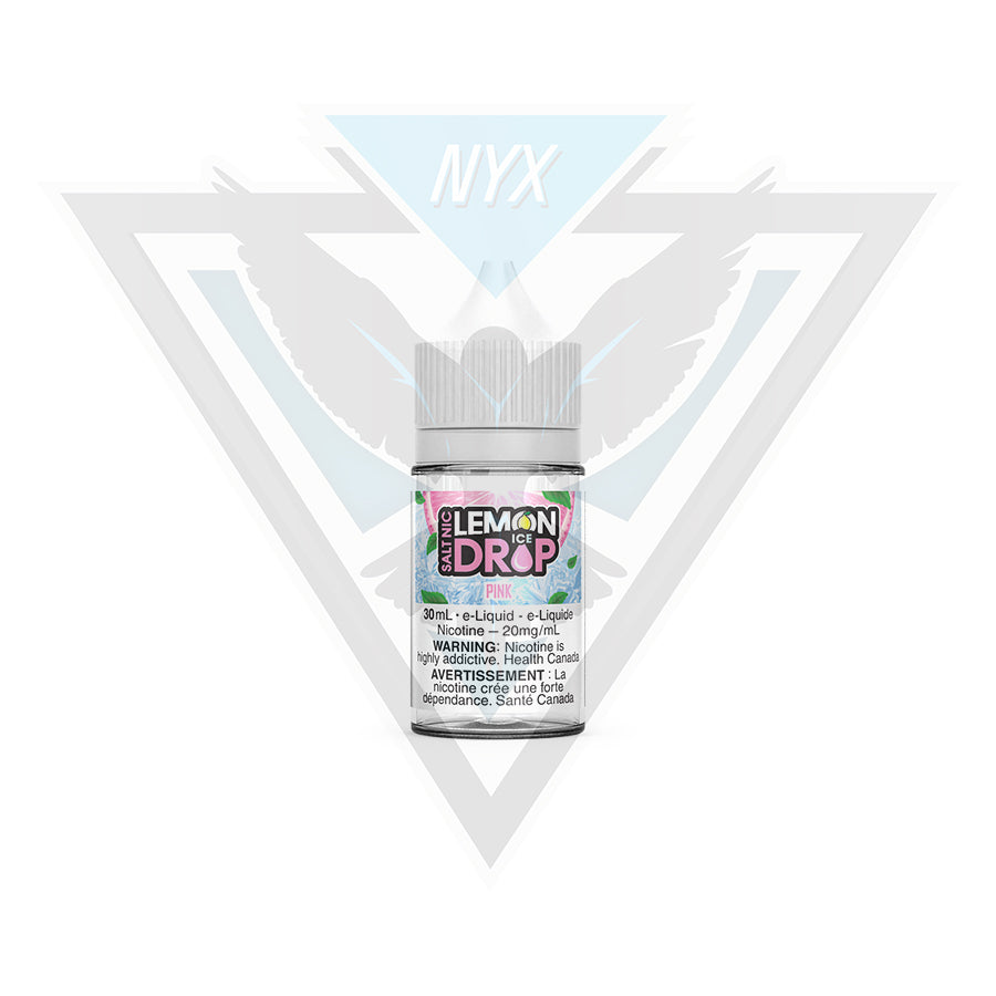 PINK BY LEMON DROP ICE SALT 30ML - NYX ECIGS