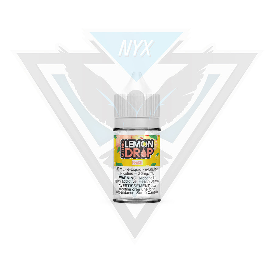 PEACH SALT BY LEMON DROP E-LIQUID 30ML - NYX ECIGS