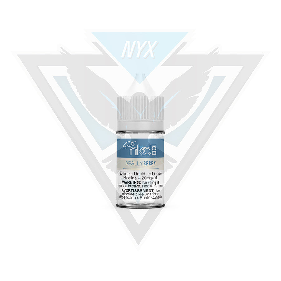 NAKED100 SEL REALY BERRY 30ML - NYX ECIGS