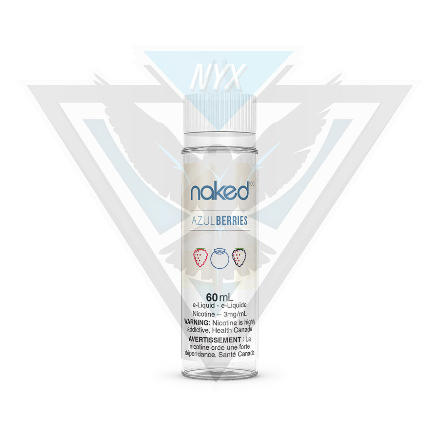 NAKED100 AZUL BERRIES E-LIQUID 60ML - NYX ECIGS