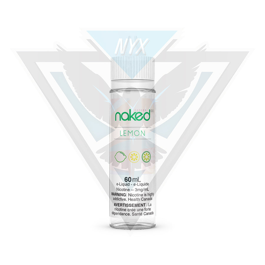 NAKED100 LEMON 60ML - NYX ECIGS