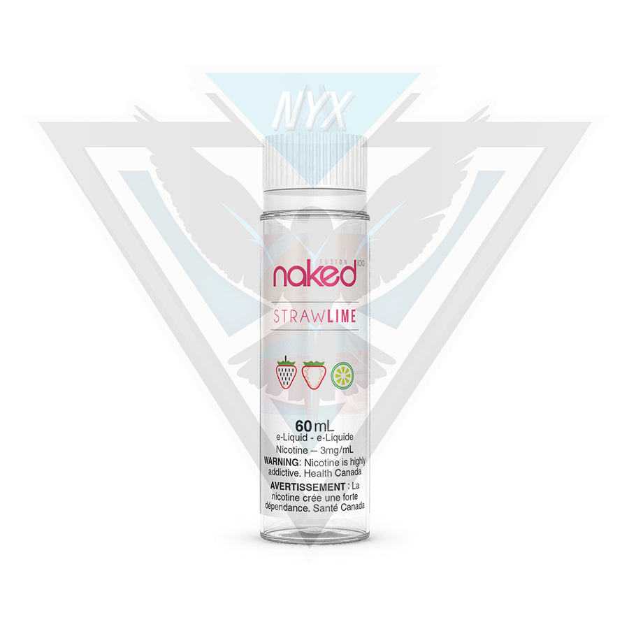 NAKED100 STRAW LIME 60ML - NYX ECIGS