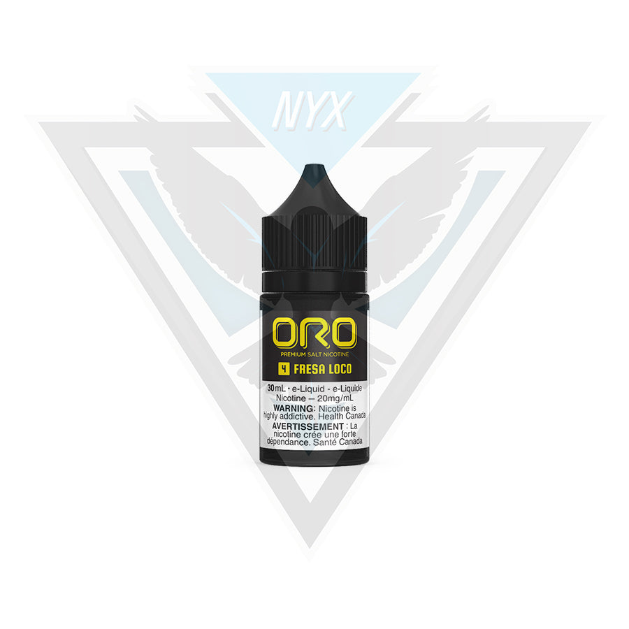 ORO FRESA LOCO SALT 30ML - NYX ECIGS