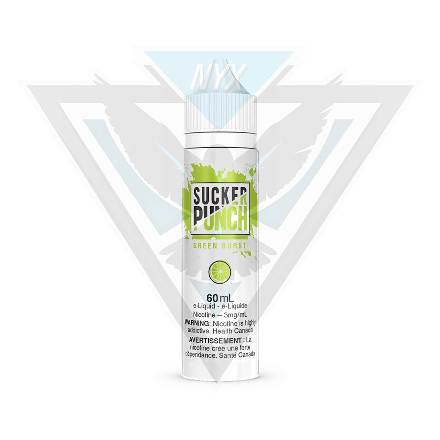GREEN BURST BY SUCKER PUNCH 60ML - NYX ECIGS