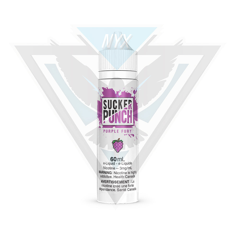 PURPLE FURY BY SUCKER PUNCH 60ML - NYX ECIGS