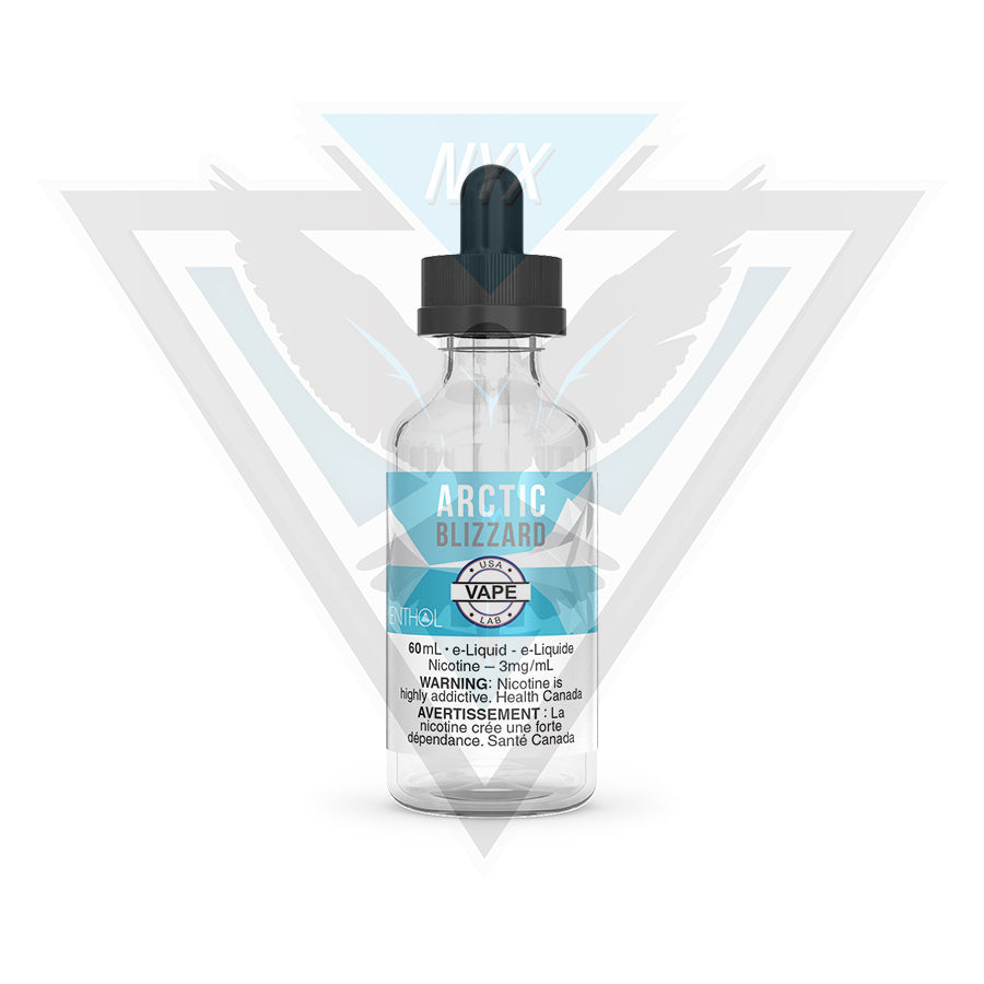 USA VAPE LAB MENTHOL - ARCTIC BLIZZARD 60ML - NYX ECIGS