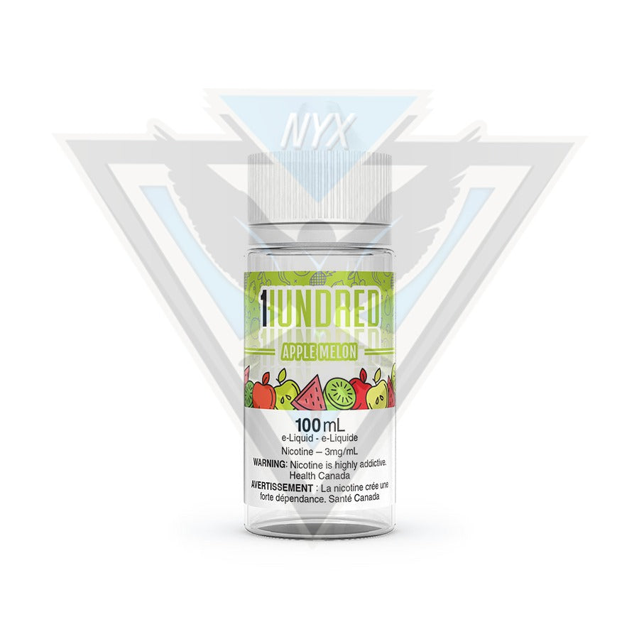 APPLE MELON BY HUNDRED E-LIQUID 100ML - NYX ECIGS