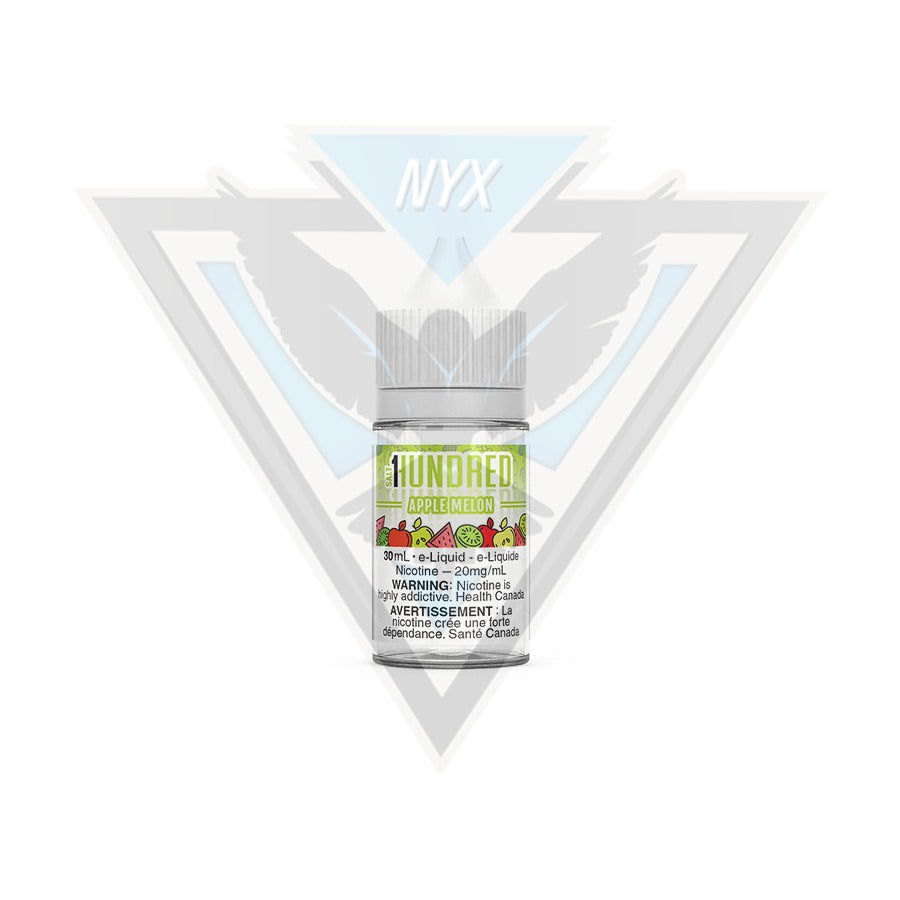 APPLE MELON SALT BY HUNDRED E-LIQUID 30ML - NYX ECIGS