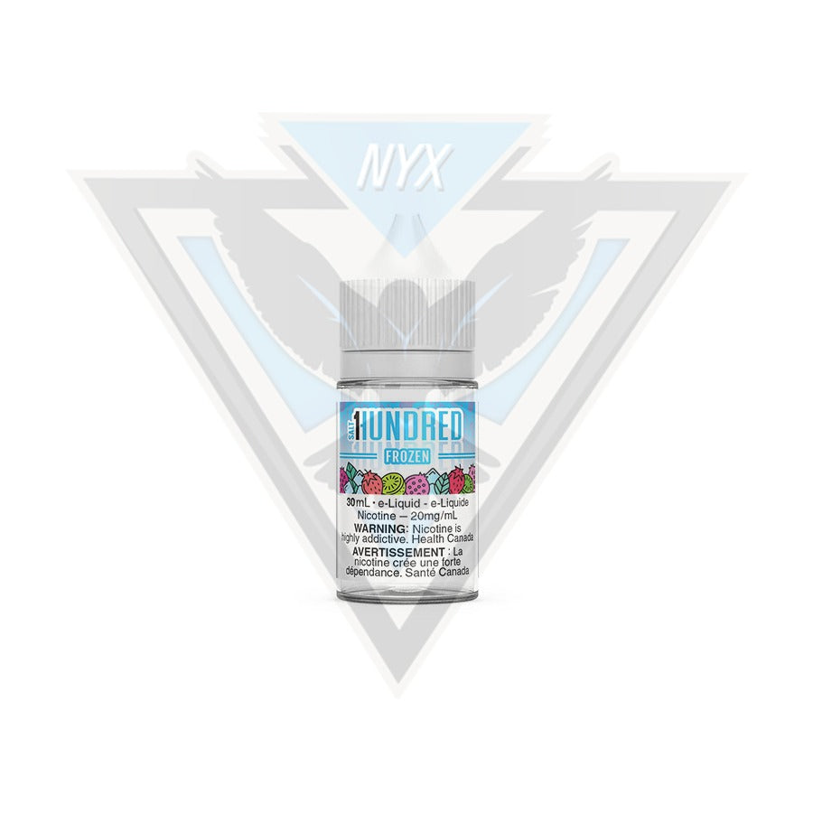 FROZEN SALT BY HUNDRED E-LIQUID 30ML - NYX ECIGS-VAPE