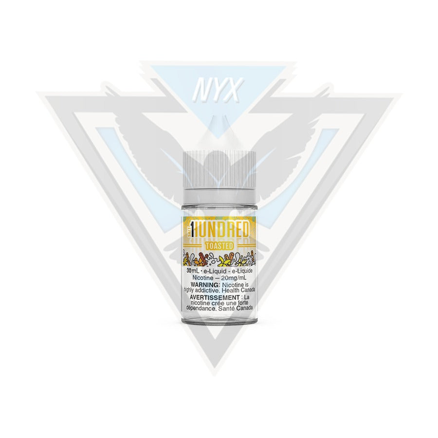 TOASTED SALT BY HUNDRED E-LIQUID 30ML - NYX ECIGS