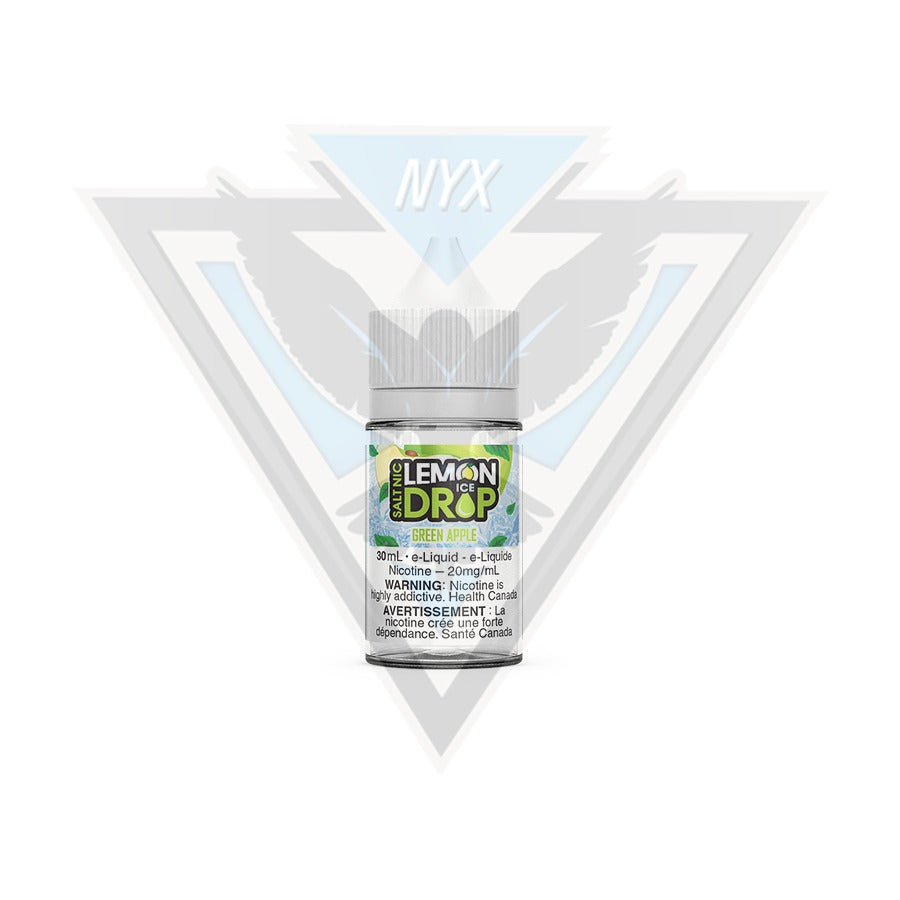 GREEN APPLE BY LEMON DROP ICE SALT E-LIQUID 30ML - NYX ECIGS