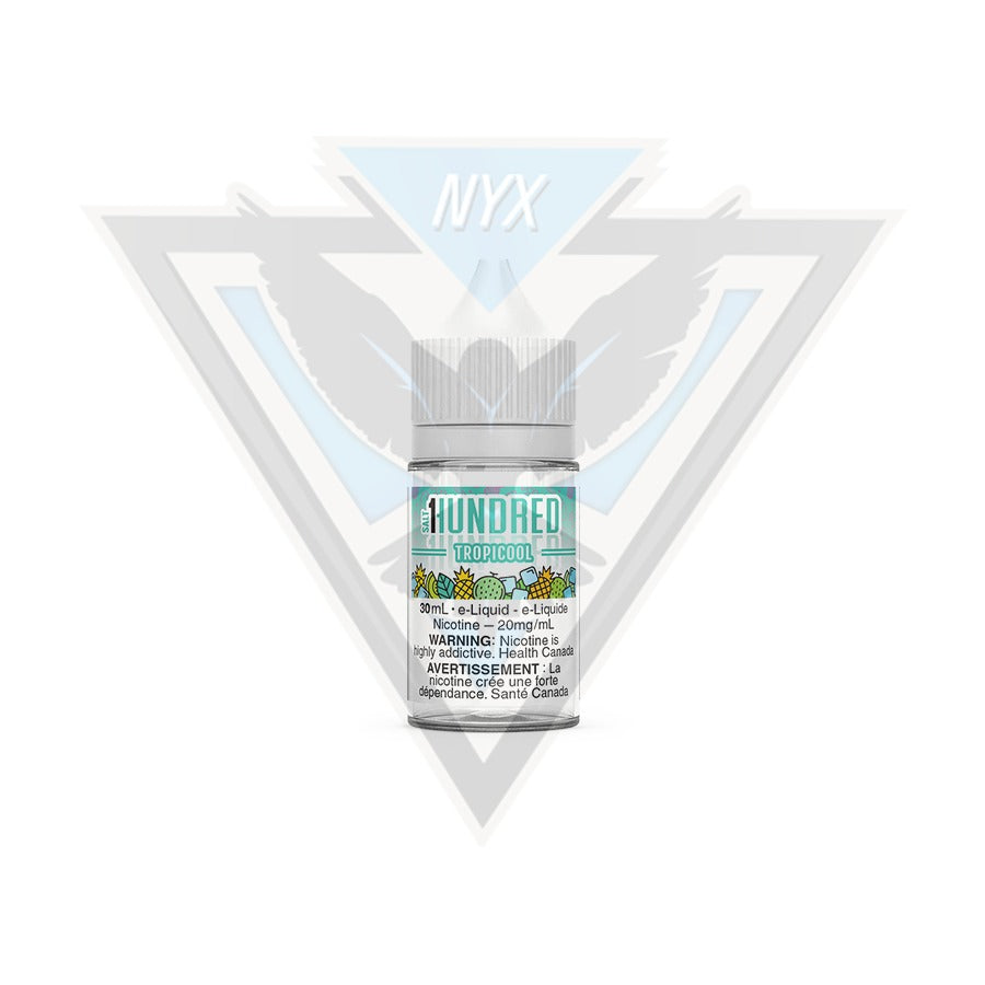 TROPICOOL SALT BY HUNDRED E-LIQUID 30ML - NYX ECIGS-VAPE