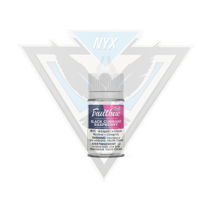 FRUITBAE BLACK CURRANT RASPBERRY SALT E-LIQUID 30ML - NYX ECIGS